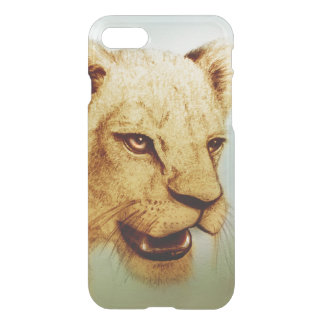 iPhone vintage case - Lion