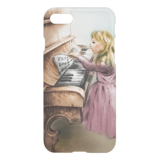 iPhone vintage case - Piano Girl