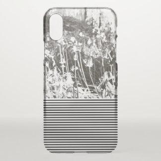 iPhone X - 'Bluebell Summer' - Transparent Case