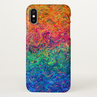 iPhone X Case  Fluid Colors