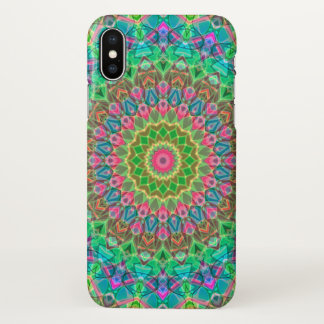 iPhone X Case Geometric Mandala G18