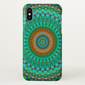 iPhone X Case Geometric Mandala G388