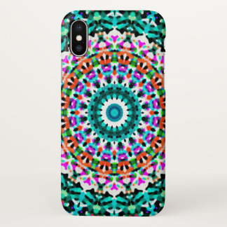 iPhone X Case Geometric Mandala G405
