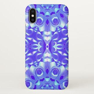 iPhone X Case kaleidoscope Flower G65