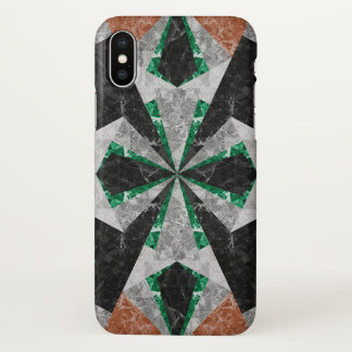 iPhone X Case Marble Geometric Background G439