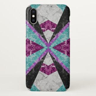 iPhone X Case Marble Geometric Background G443