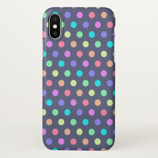 iPhone X Case Polkadots
