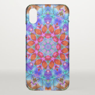 iPhone X Clearly Case Diamond Flower G408