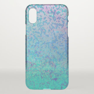 iPhone X Clearly Case Glitter Star Dust