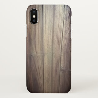 iphone x  country western old fence wood case