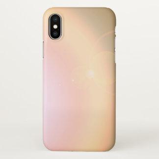 iphone x rainbow colors sunlight sunset case