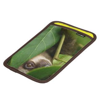 Ipod mini sleeve with peeping two-toed sloth on it iPad mini sleeves
