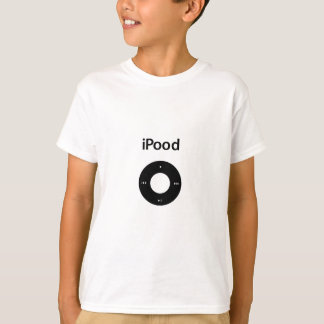 Ipod Spoof Ipood Black T-Shirt