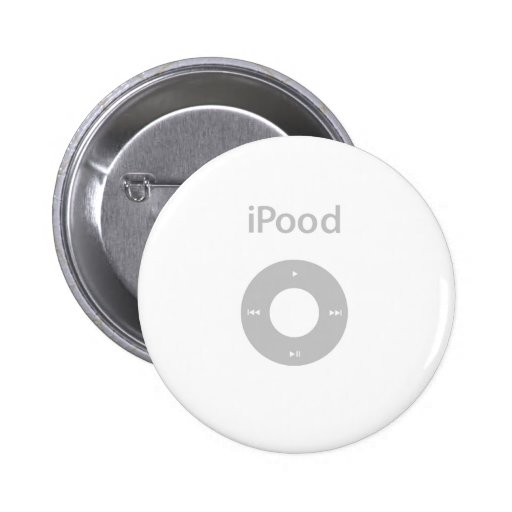 Ipod Spoof Ipood Pinback Buttons