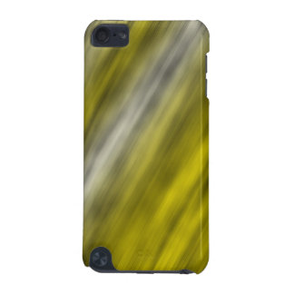 iPod Touch 5g, abstract art, yellow iPod Touch (5th Generation) Case