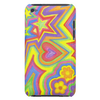 """iPod Touch, Barely There Phone Case """"Happy"""""""