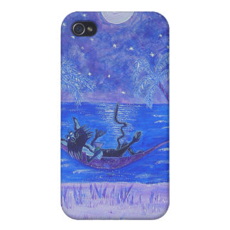 ipod touch case- Moonlight Martini Cover For iPhone 4