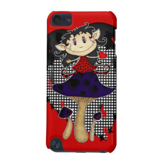ipod touch case with cute gothic elf