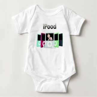 iPood Girl Baby Bodysuit