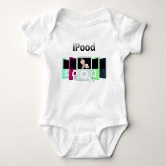 iPood Girl Baby Bodysuit