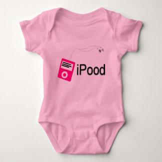 ipood-pink baby bodysuit