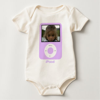 iPood With photo Baby Bodysuit