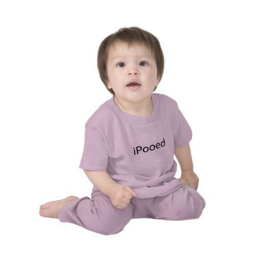iPooed t-shirt 6 mos