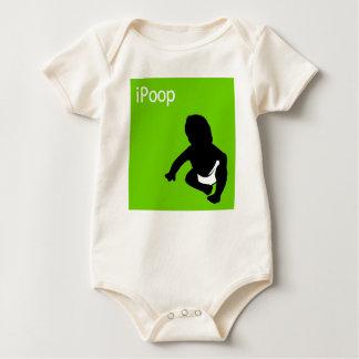 iPoop baby Bodysuits