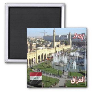 IQ - Iraq - Shar Park Square Magnet