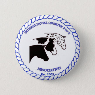 IQPA Quarter Pony Registry Gifts 2 Inch Round Button
