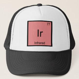 Ir - Infrared Chemistry Element Symbol Laser Tee Trucker Hat