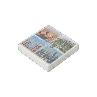 IR Iran - Isfahan - Lut Desert - Ruines Persepolis Stone Magnets