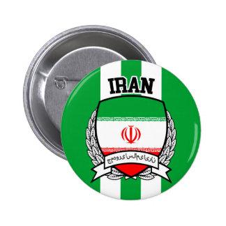Iran 2 Inch Round Button