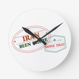 Iran Been There Done That Round Clock