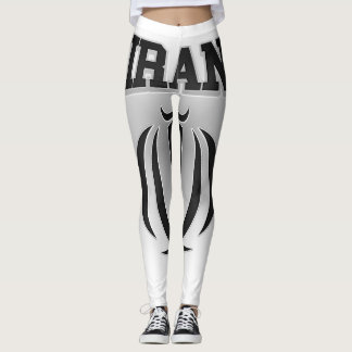 Iran Coat of Arms Leggings