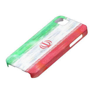 Iran distressed Iranian  flag Case For The iPhone 5