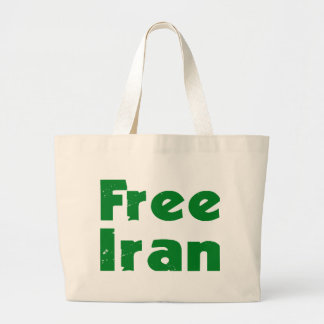 Iran Election Large Tote Bag