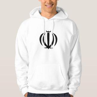 iran emblem hoodie