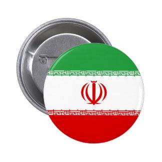 Iran Flag 2 Inch Round Button