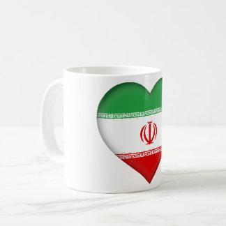 Iran Flag Coffee Mug
