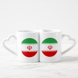 Iran Flag Coffee Mug Set