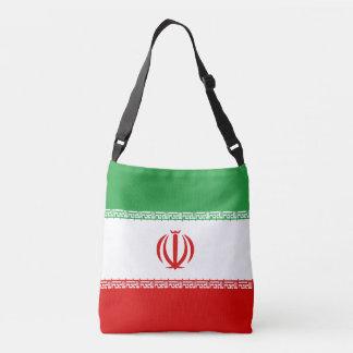 Iran Flag Crossbody Bag