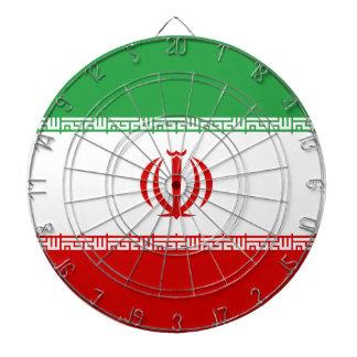 Iran Flag Dartboard