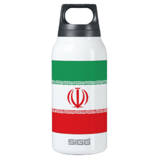 Iran Flag Insulated Water Bottle