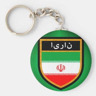 Iran Flag Keychain