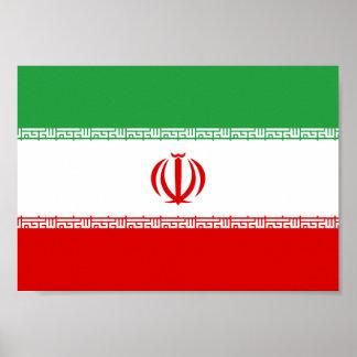 Iran Flag Poster