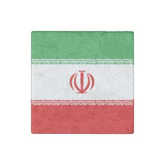 Iran Flag Stone Magnets