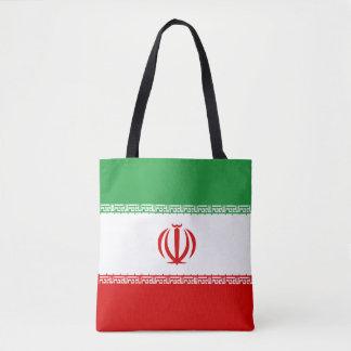 Iran Flag Tote Bag