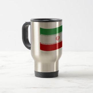 Iran Flag Travel Mug