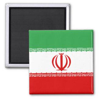 Iran High quality Flag Square Magnet